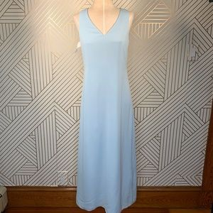 Fame and Partners Custom Blue Bridesmaid Dress